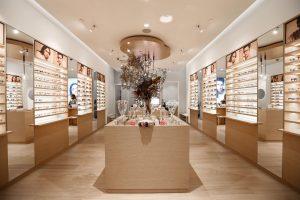 inspireX shopfitting for glasses store parramatta